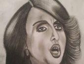 قارئ يشارك ببورتريه لفيروز بعد انتشار شائعات عن وفاتها