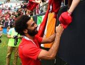 محمد صلاح يصل نيوجيرسى استعدادا لمباراة مان سيتي ضد ليفربول
