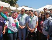 محافظ الجيزة: ماراثون الدراجات شارك فيه 800 شاب وفتاه