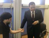 الساحر التركى يغادر مستشفى قصر العينى الفرنساوى بعد شفائه.. ويشكر أطباء مصر