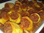 طريقة عمل بطاطس باللحمة المفرومة