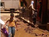 قارئ يشكو غرق شوارع قرية فاو قبلى فى قنا بمياه الصرف الصحى