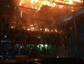 النيابة تقرر انتداب المعمل الجنائى فى حريق مول الموسكى لمعرفة أسبابه