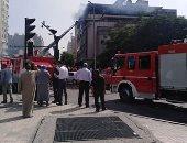 إخماد حريق بعقار  الدوحة في مثلث ماسبيرو دون إصابات