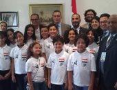 """أطفال المواهب من مصر فى المهرجان الدولى لـ""""أطفال السلام"""" بالمغرب"""
