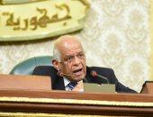 رئيس البرلمان يستقبل وزير شئون مجلس النواب بعد عودته من الحج