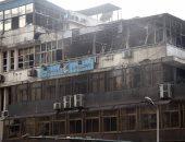 السيطرة على حريق نشب داخل شقة سكنية فى 15 مايو دون إصابات