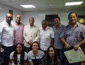 محافظ الإسكندرية يكرم بعثة الغوص والانقاذ بعد العودة من بطولة العالم