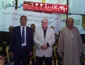 فيديو وصور.. موسى مصطفى موسى يفتتح مقرا جديدا لحزب الغد بالإسكندرية