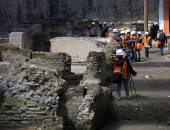 اكتشاف أطلال كنيسة أثناء عملية حفر بشمال إيطاليا