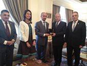 وفد من البرلمان الدولى للتسامح والسلام يلتقى الأمين العام للجامعة العربية