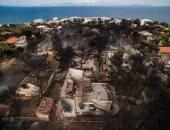 ارتفاع حصيلة ضحايا الحرائق فى اليونان لـ 81 قتيلا