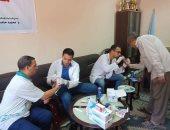 صور.. قافلة طبية تكشف إصابة 9 مواطنين بفيروس سى بالإسكندرية