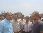 حملة لإزالة التعديات على الأراضى الزراعية بكفر الشيخ