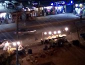 صور.. فوضى الباعة وتعطيل المرور فى ميدان الألف مسكن بالقاهرة