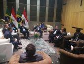 صور.. المهندس شريف إسماعيل يلتقى وزير خارجية البرازيل على هامش قمة بريكس