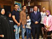 محافظ كفر الشيخ يكرم المتفوقين وذوى الاحتياجات الخاصة