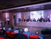 طلاب حقوق المنيا يقدمون محاكاة لوقائع جلسة قضائية لمحاكمة إرهابيين