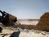 إزالة 32 حالة تعد على أملاك الدولة ونهر النيل خلال حملات مكبرة فى قنا