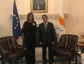 الرئيس القبرصى يستقبل وزيرة الهجرة ويشيد بالجهد المبذول خلال مؤتمر إحياء الجذور