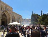 عشرات حالات الاختناق فى مواجهات مع الاحتلال الاسرائيلى بمخيم شعفاط