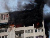 صور.. مصرع سيدة و3 أطفال فى حريق ببرج سكنى بالضاحية الشمالية لباريس