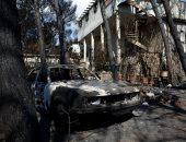 """صور.. آثار مدمرة للحرائق فى العاصمة اليونانية """"أثينا"""""""