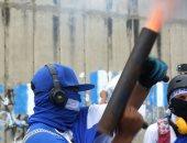 100 يوم من الاحتجاج فى نيكاراجوا والمتظاهرين يطلقون الهاون