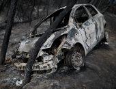 صور.. اليونان: أعمالا إجرامية تسببت فى اندلاع عدة حرائق