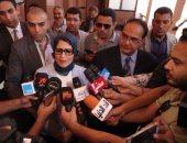 وزيرة الصحة تتفقد الأعمال الإنشائية بمستشفى بور سعيد العام