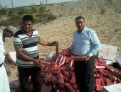 ضبط سلع ومواد غذائية منتهية الصلاحية ببئر العبد فى شمال سيناء