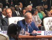 """شريف اسماعيل أمام قمة بريكس: مصر تستضيف معرض """"التجارة البينية فى أفريقيا"""""""