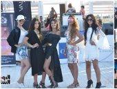 صور.. فوز مايا سعد بمسابقة ملكة جمال الشاطئ