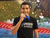 سباح الزمالك يحصد ذهبية بطولة الجيزة فى سباق 200 متر فراشة