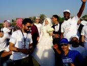 عروس تشارك احتفالية منظمة الصحة العالمية باليوم العالمى للفيروسات الكبدية - صور