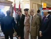 فيديو.. الرئيس السيسي يصل جامعة القاهرة لافتتاح المؤتمر الوطنى السادس للشباب