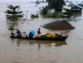 عشرات الآلاف من المشردين فى ميانمار بسبب فيضانات