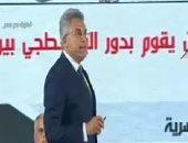 رئيس هيئة الرقابة الإدارية يشيد بدور ياسر القاضى فى مشروع البنية المعلوماتية