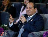 """فيديو وصور.. الرئيس السيسي: """"فيه ناس خدت تكافل وكرامة ويمكن ما تستحقش"""""""