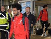 محمد صلاح يصل إنجلترا مع نادى ليفربول بعد نهاية جولة الولايات المتحدة