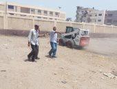 صور.. حملات نظافة وتشجير بـ3 قرى بمركز قلين فى كفر الشيخ