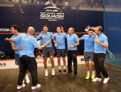 المنتخب المصرى ينتزع بطولة العالم فى الاسكواش بالهند