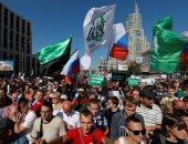 """آلاف الروس يحيون الذكرى السنوية لزعيم المعارضة """"نيمتسوف"""""""