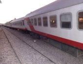 تأخر قطار القاهرة - أسوان ساعتين ونصف نتيجة عطل فنى بمحطة بنى سويف