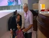 """فيديو.. محمد عمر: """"كلنا معاك يا ريس والمعاقين قادرين على تحدى المستحيل"""""""