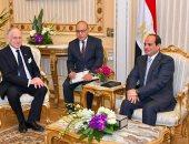 رئيس الكونجرس اليهودى يشيد بإنجازات مصر الاقتصادية وعودتها لمكانتها العالمية