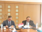 رئيس جامعة سوهاج: صيانة مبانى المدن الجامعية وتوصيل شبكات الإنترنت
