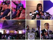 """السفيرة نبيلة مكرم تفتتح أول منتدى للمصريين بالخارج"""" فى إجازتك بوطنك نشوفك ونسمعك"""""""