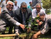 انطلاق حملة المليون شجرة فى روض الفرج بحضور نائب المحافظ
