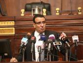 فيديو وصور.. متحدث البرلمان :أنجزنا 197 مشروع قانون.. وبيانات قدمت على أنها استجوابات
